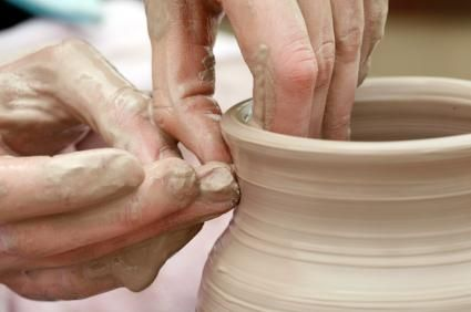 working with clay and how to make homemade clay