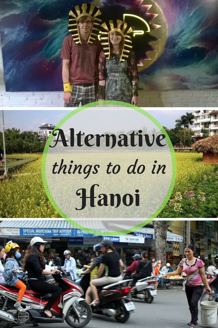 Alternative things to do in Hanoi. From quirky cafes to a live escape game, there is something for everyone when you feel like doing something different in Vietnam's capital city.
