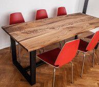 Стол Спайдер - стол из массива дерева чинара на заказ