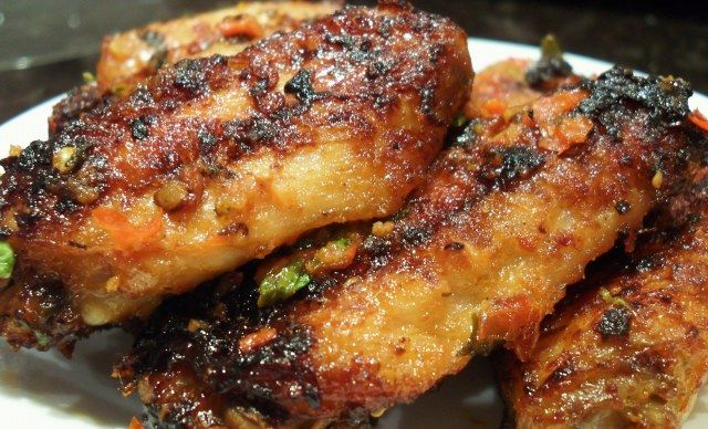 Portuguese Chicken Wings