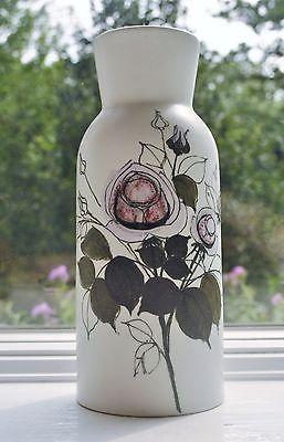 Arabia Finland Large Vase Hilkka-liisa Ahola Hand Painted Hla