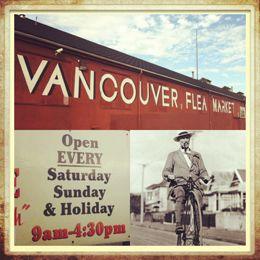 Vancouver Flea Market - Find Your Treasure