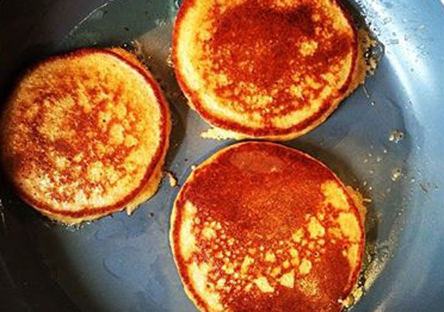 Carrot cake cinnamon protein pancakes | News | Lorraine Pascale