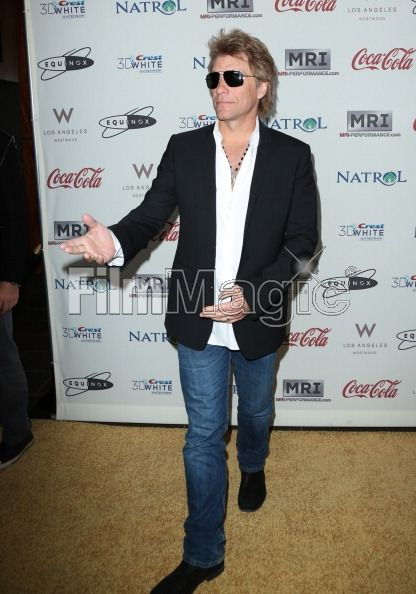 LOS ANGELES, CA - JANUARY 12: Musician Jon Bon Jovi attends the Gold Meets Gold Event, held at the Equinox Sports Club Flagship West Los Angeles location on Saturday, January 12, 2013 in Los Angeles, California. (Photo by Jennifer Graylock/FilmMagic)