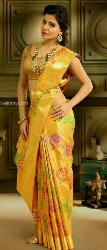 Samantha beautiful in south India shoot