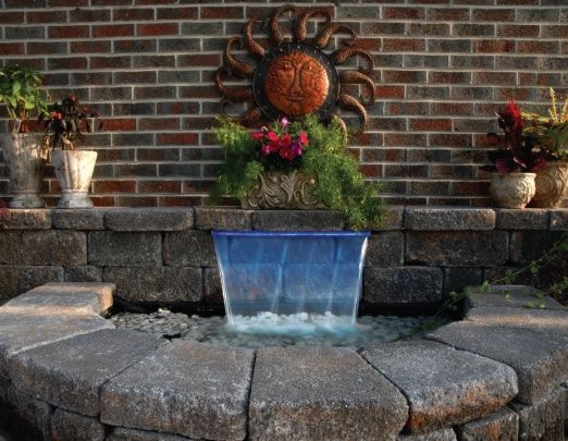 17 best images about water features on pinterest for Water feature filter