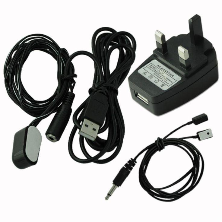 ИК Extender ИК Повторитель Дистанционного Управления 2 Излучатель 1 Приемник USB Adatper Большое Продвижение По Службе! EG5720
