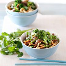 Chilli garlic beef and noodle stir-fry (to try)