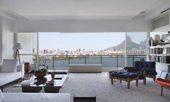 Uma casa onde o design brasileiro ocupa todos os espaços - Jornal O Globo