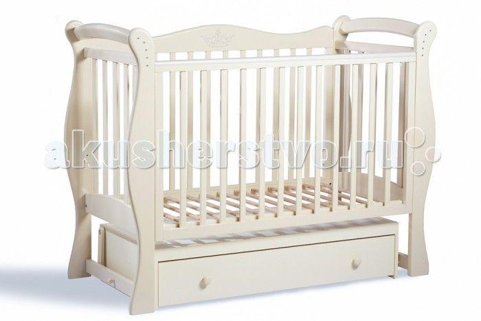 Детская кроватка Baby Luce Лучик поперечный маятник  Детская кроватка Лучик поперечный маятник - качественная кроватка для детей от рождения. Изготовлена в классическом стиле, поэтому подойдет под любой интерьер.  В технологии используются только гипоаллергенные лаки и эмали.  Для малыша предусмотрено особое расположение элементов ограждения кроватки, закругленные углы и безопасная краска, которая не повредит здоровью малыша даже при «пробе на зуб». Мама оценит возможность легко и просто…