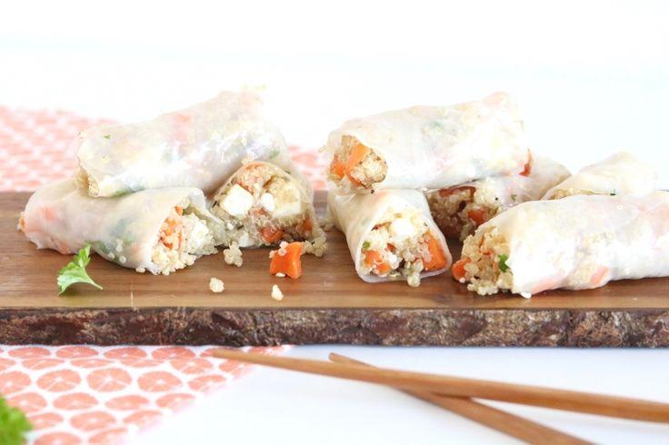 Springrolls met quinoa en wortel - 5 OR LESS