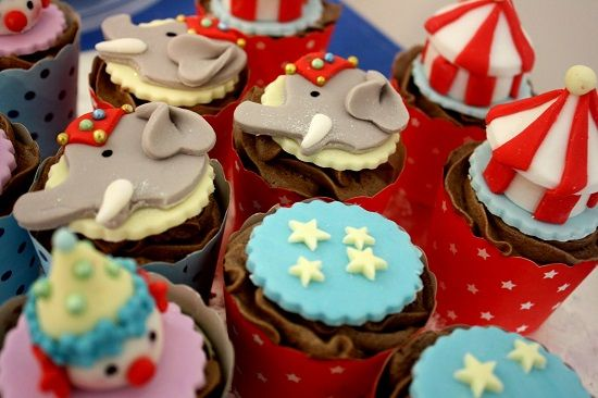 cupcakes thema circus