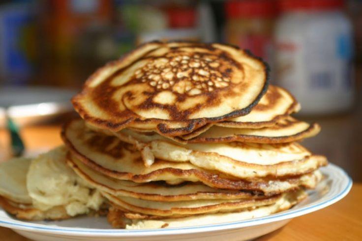 """Sobotnie śniadanie i delikatne amerykańskie placuszki """"pancakes"""" - XMOON.PL"""