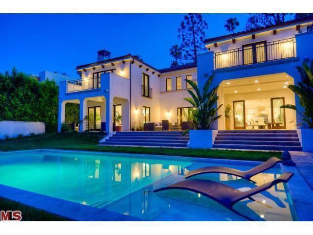 Charlie Sheen's Mediterranean-style home