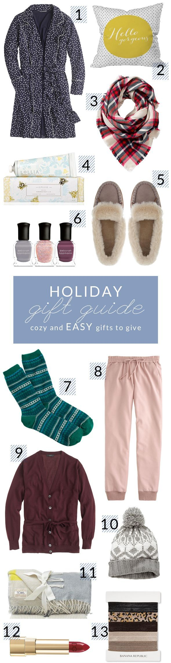 Holiday Gift Guide - Cozy and Easy Gifts To Give - Poor Little It GirlPoor Little It Girl