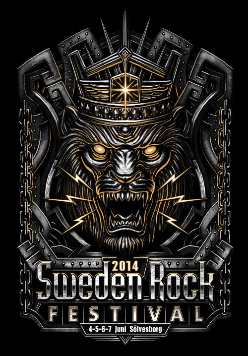 Another graphic for the Sweden Rock Festival