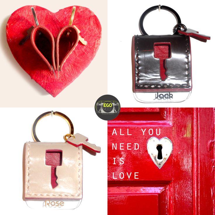 leather keychain personalized with name #sanvalentin #gift #sanvalentino #idearegalo #portachiavi #regalo personalizzato #love #keychain