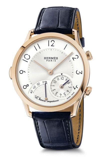 Hermès_ Slim d'Hermès L'heure impatiente