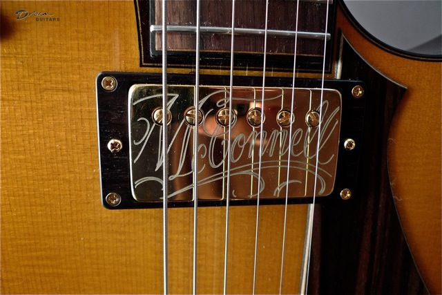 Gibson Les Paul Custom Semi Hollow Massey Ferguson 35 Wiring Diagram Attractive Mf Wire Gallery Schematics And Diagrams Sold! New Mcconnell Electric Brazilian/sitka Demo In Shop | Pickup Covers, Guitars Music Guitar