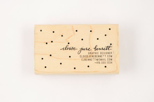 DOTTY CALLIGRAPHY BUSINESS CARD STAMP - Ampersandity: Business Cards, Cards Stamps, Cards Ideas, Custom Dotty, Graphics Design, Fun Ideas, Cars Accessories, Dotty Calligraphy, Calligraphy Business