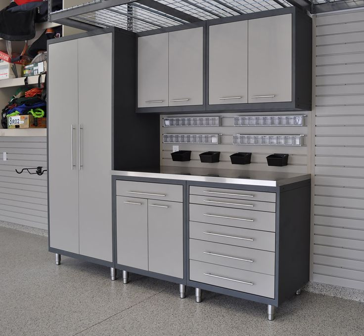 Tips For Buying Garage Utility Cabinets: Garage Cabinets Diy, Garage Storage Cabinets And