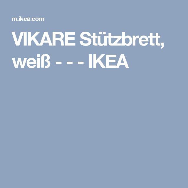 VIKARE Stützbrett, weiß - - - IKEA