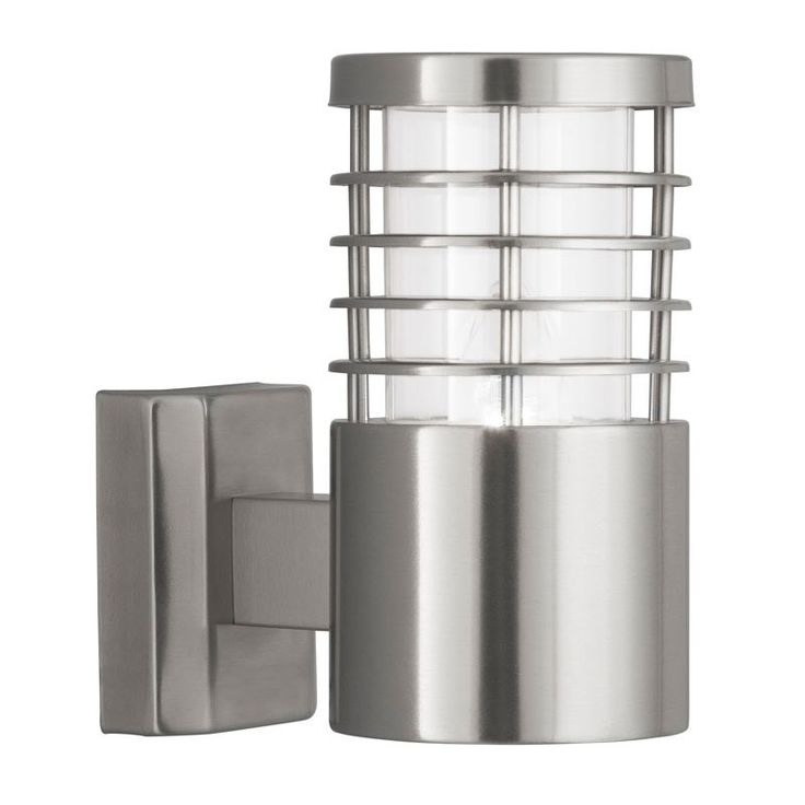 Searchlight Saturn Stainless Steel Outdoor Wall Light