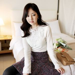 Korea Womens Luxury Shopping Mall [mimindidi] St. ♡ tee / Size : FREE / Price : 34.57 USD #korea #fashion #style #fashionshop #apperal #luxury #lovely #mimididi #tee #blouse #dailylook