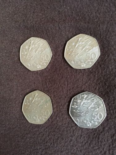 50 #pence ( 50 p ) coin #d-day #really rare ! 1994 ! ,  View more on the LINK: 	http://www.zeppy.io/product/gb/2/282238302449/