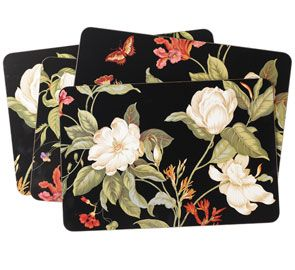 WILLIAMSBURG Garden Images placemats by Jason Products