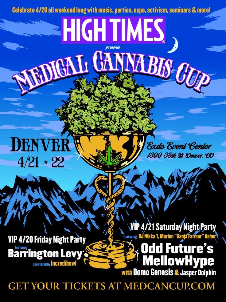 2012 HIGH TIMES Medical Cannabis Cup  4/21-22, 2012