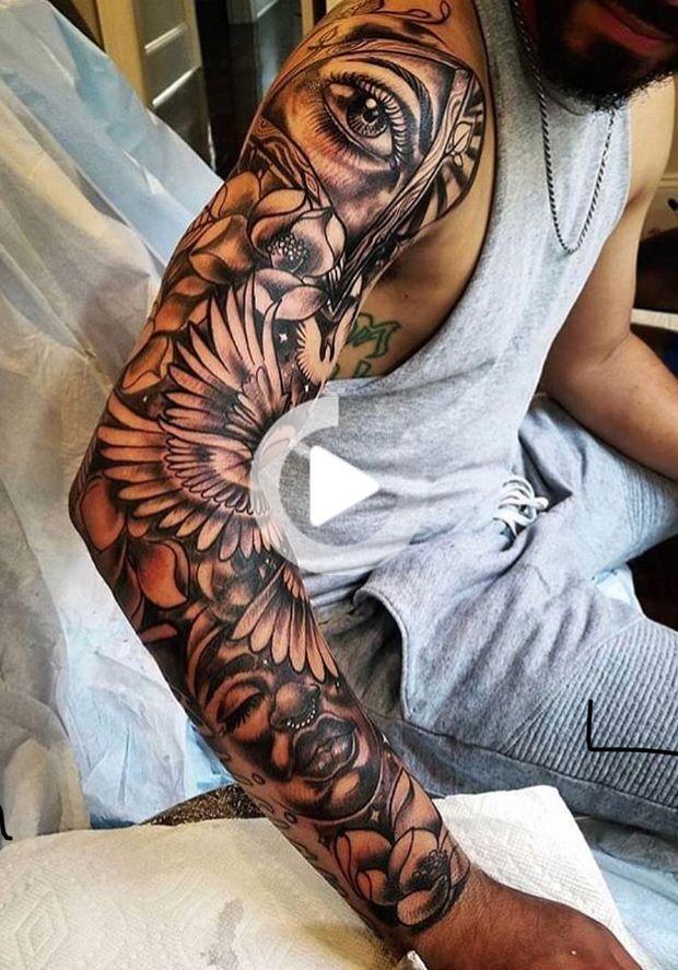 Erstaunliche Körper-Tattoos Tyskland