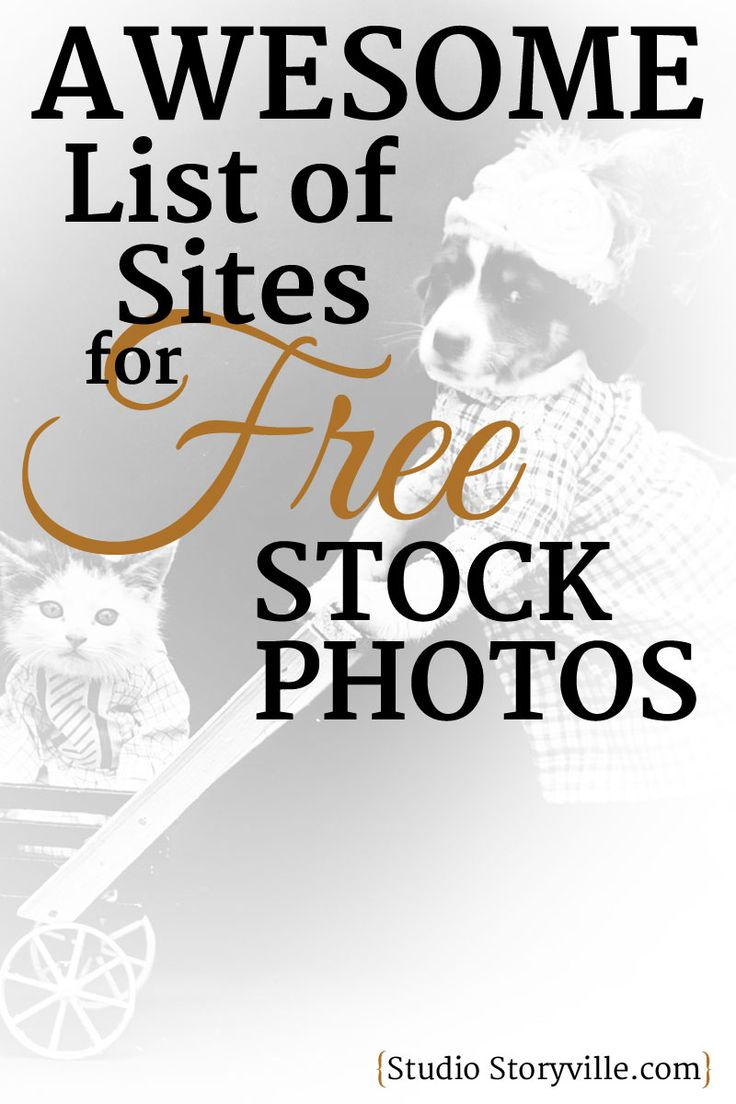 A HUGE list of websites with Free stock photos - for commercial use.