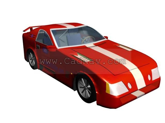 Race Car 3d Model 3ds Max 3ds Files Free Download Modeling 1724 On Cadnav Car 3d Model Car Race Cars