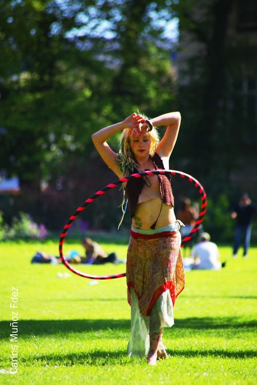 I'd Rather Be Hoop Dancing