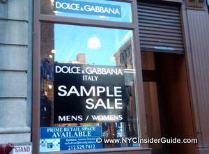 NYC Sample Sales Calendar 2013   August   September   October