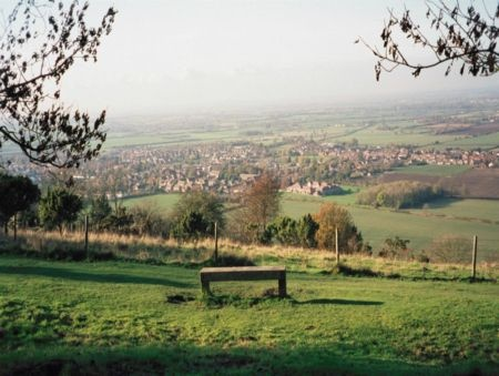 """The View"" at Chinnor Hill.  Chinnor was possibly birthplace to Grandad Daniels; definitely his sister and half-sister lived there."