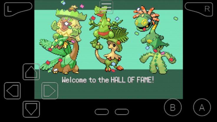 Emerald hall of fame  Mono team Grass type