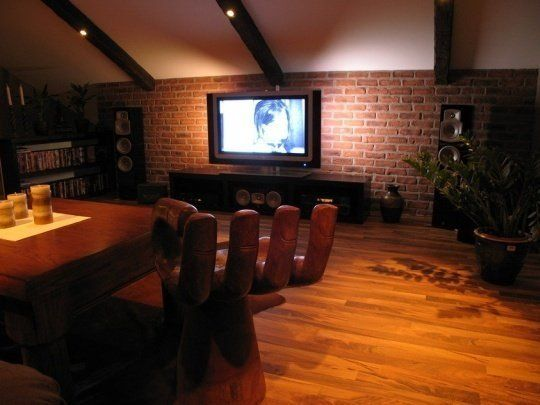 Close-Up: A Godly Attic Media Room Renovation