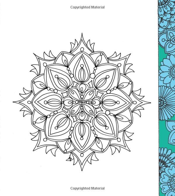 Color Me Calm 100 Coloring Templates For Meditation And Relaxation Lacy Mucklow Angela