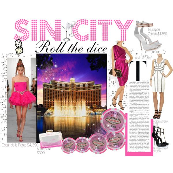 """SIn City Las Vegas"" by vickysoul on Polyvore"