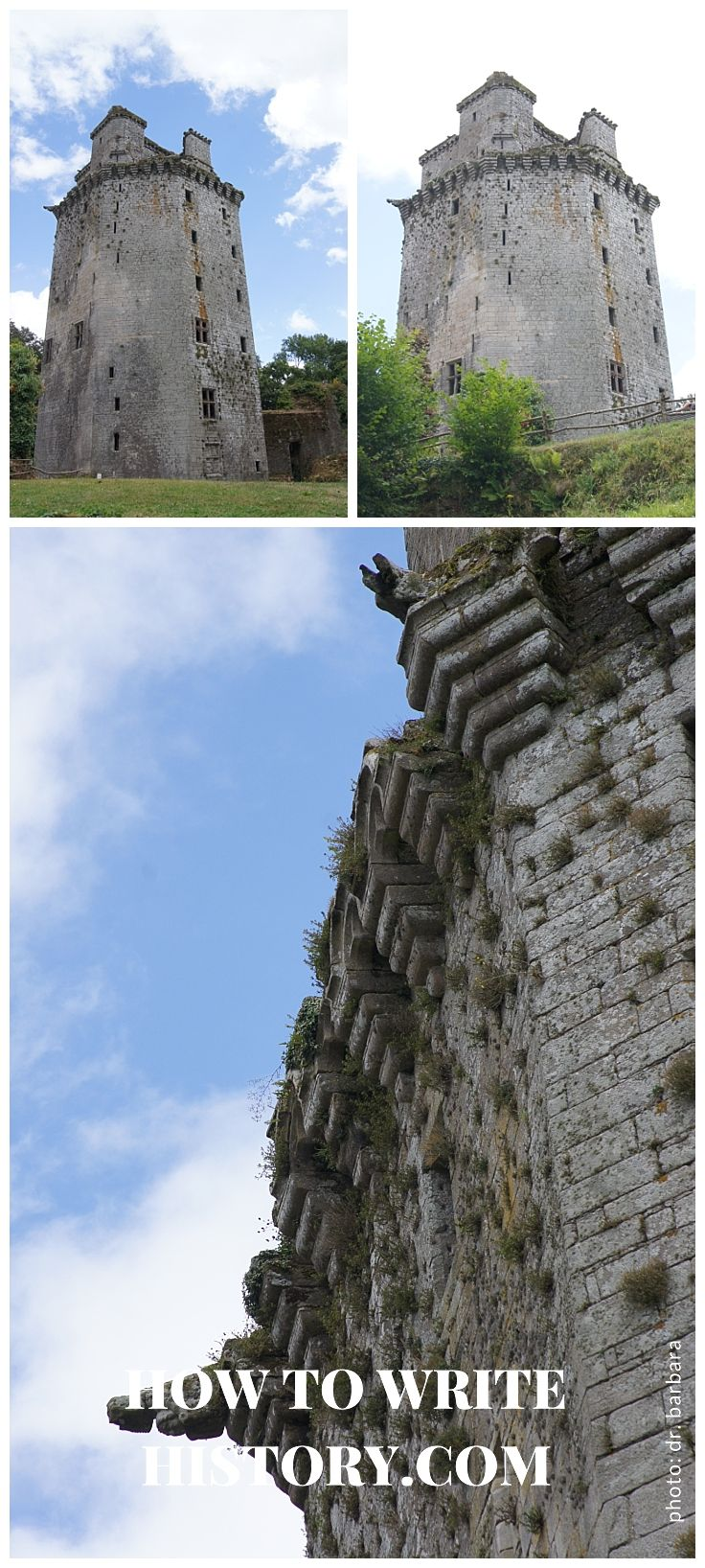 Bretagne, France: Exploring Medieval Castles * | handpicked, historical material for authors who want to write about the past.  Resources for Writers and Authors who need historical resources for writing historical fiction. Curated by historical consultant Dr. Barbara Ellermeier.