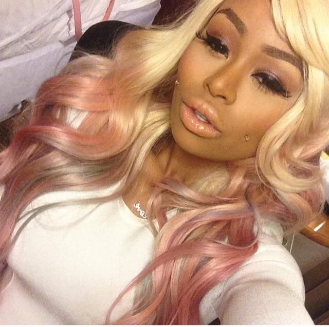 Ms. Blac Chyna! Dat Pink Tho!