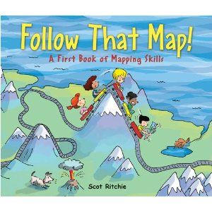 A cute story that teaches students about map concepts.