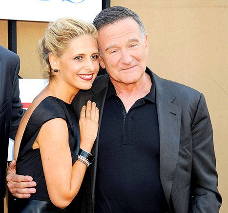 "Sarah Michelle Gellar: Robin Williams Made My Life a ""Better Place"" - Us Weekly Mon. 8-11-14 Only 63 yrs."