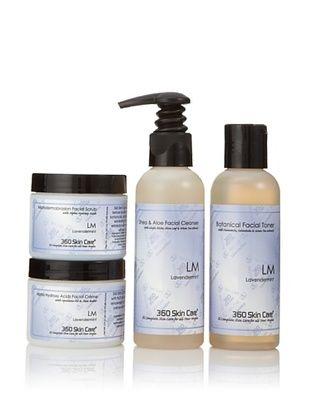 360 Skin Care Clarify Me Lavendermint Facial Care 4-Piece Set