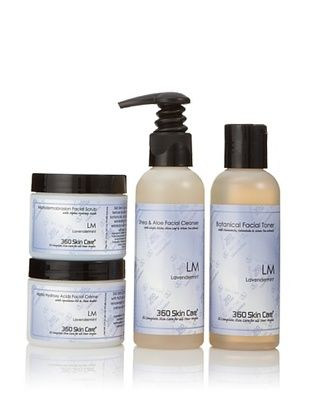 360 Skin Care Clarify Me Lavendermint Facial Care 4-Piece Set