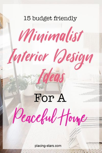 15 Simple Minimalist Design Ideas For A Peaceful Home