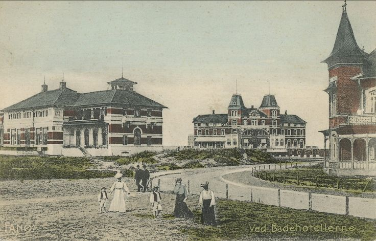 Fanø. Ved Badehotellerne. - Emnenummer 189547 - DFF frimærkesalg - Frimærker og postkort