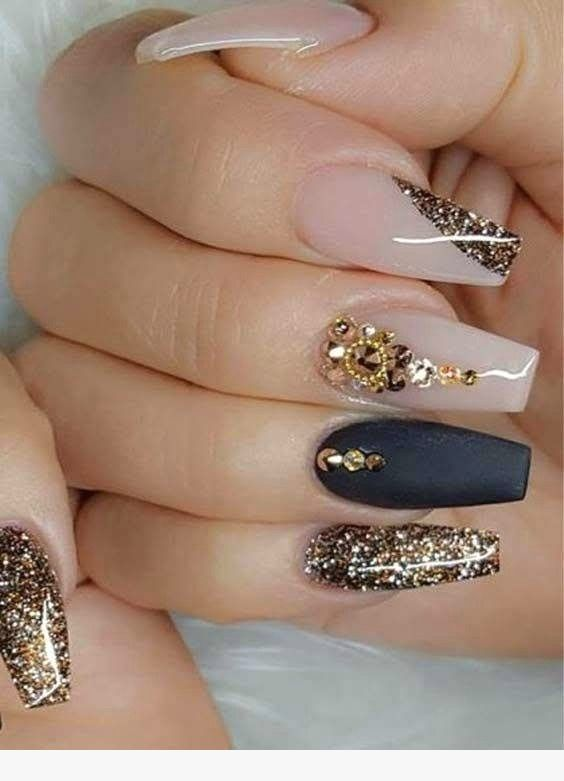 Pretty 74 Nail Designs Ideas For 2019 Nails în 2019 Pinterest